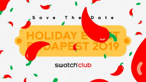 Registrations date for Swatch Club Holiday Event @ Budapest