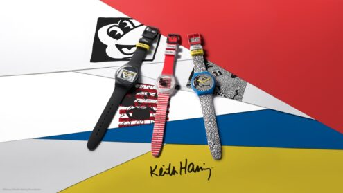 DISNEY MICKEY MOUSE X KEITH HARING SWATCH-KOLLEKTION